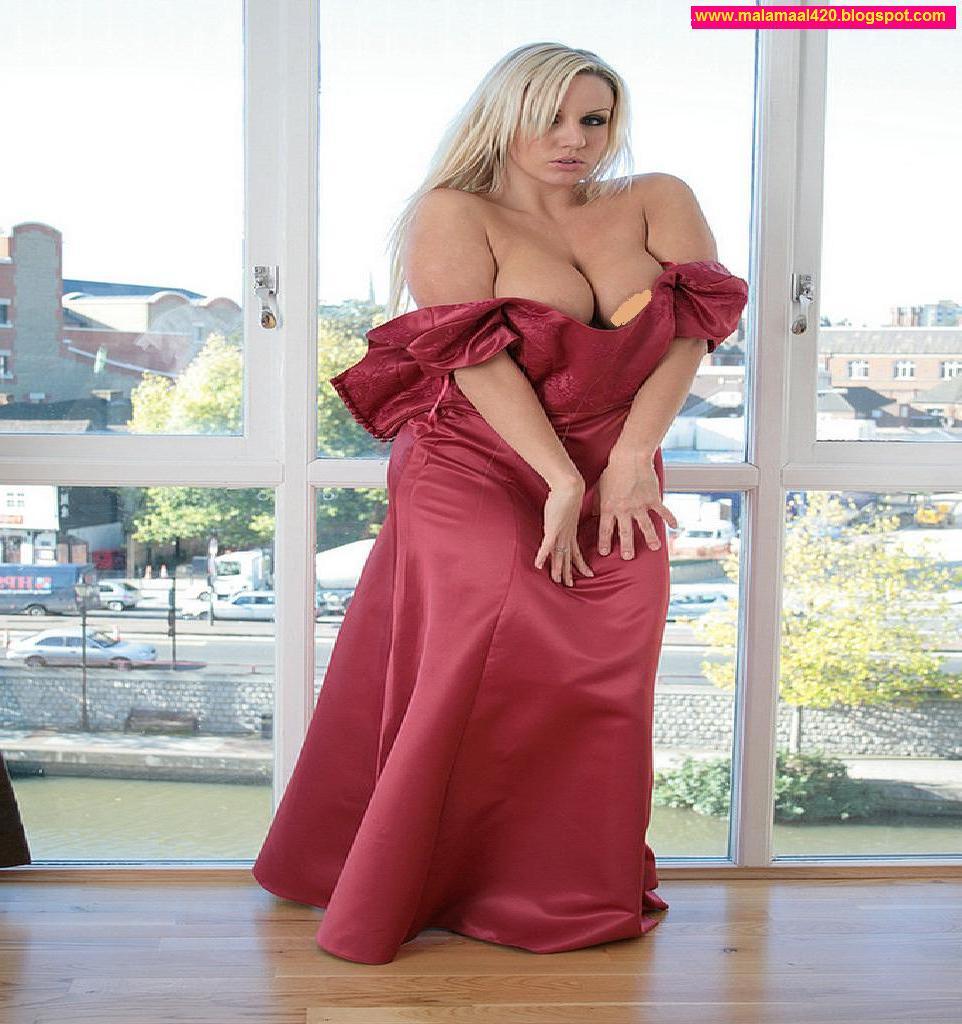 Nesha Jawani Ki: Dannii Harwood Hot & Sexy In Red Dress
