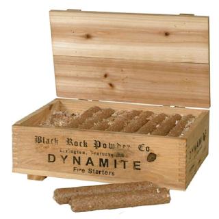 Déco ambiance Western avec ces allume-feux bâtons de dynamite