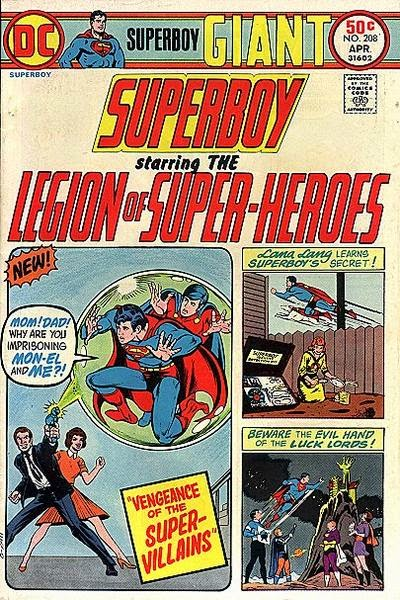 Superboy and the Legion of Super-Heroes #208