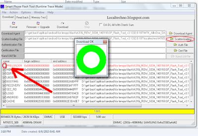 cara flash/instal ulang a369i dengan mudah
