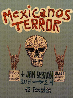 MEXICANOS TERROR - Interview Mai 2018 (Rock'n roll)
