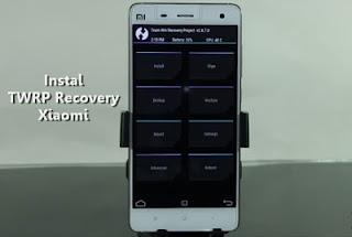 Cómo instalar TWRP de recuperación para Xiaomi