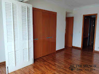 Chung cư The Manor 1 tầng thấp bán hoặc cho thuê nhà trống | phòng ngủ lớn