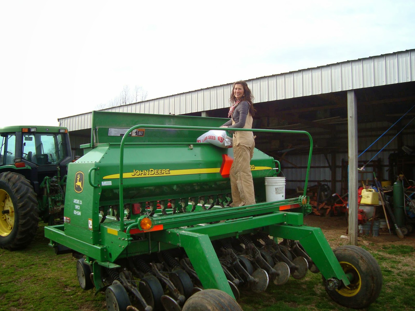 You think my tractors sexy