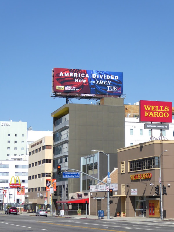 America Divided Turn season 3 billboard