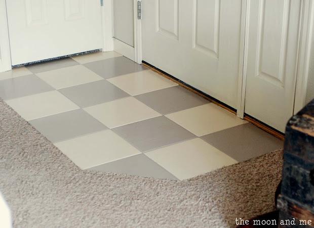 Paint Over Ceramic Tile Floor