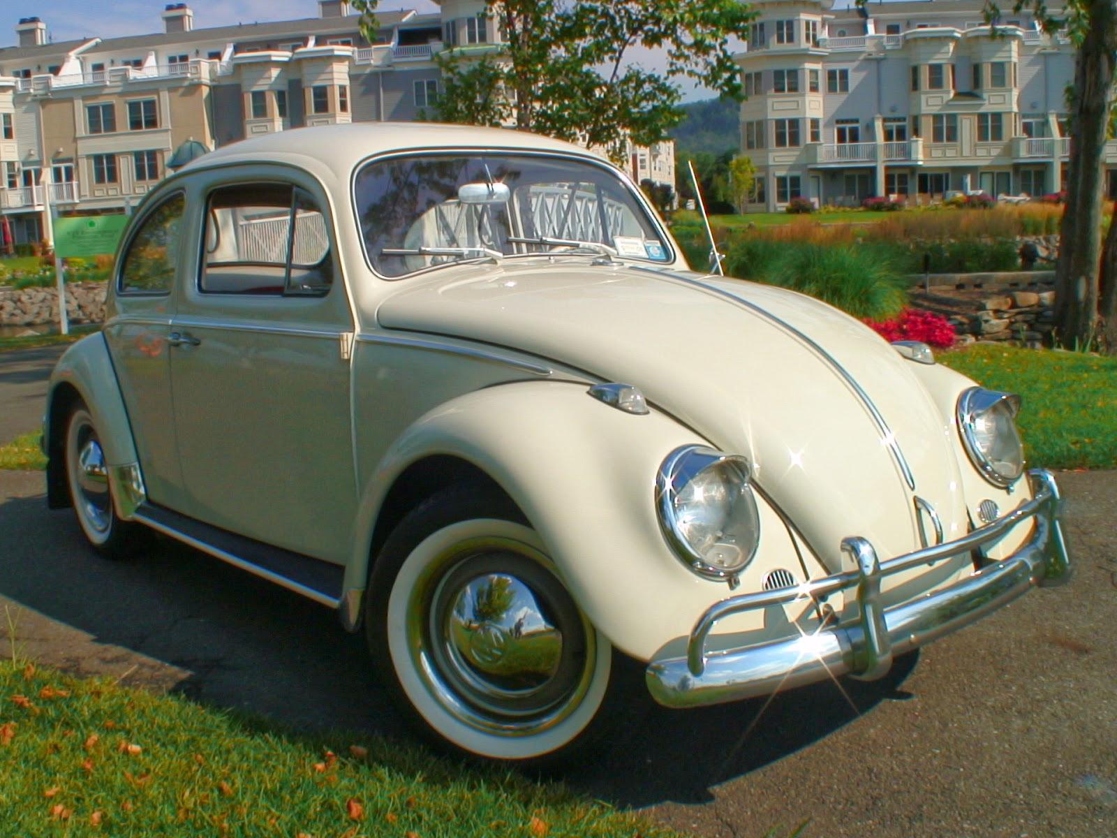volkswagen  clásico color crema