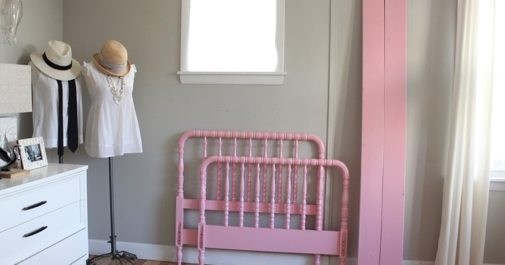 Blue Lamb Furnishings Pink Twin Size Jenny Lind Bed