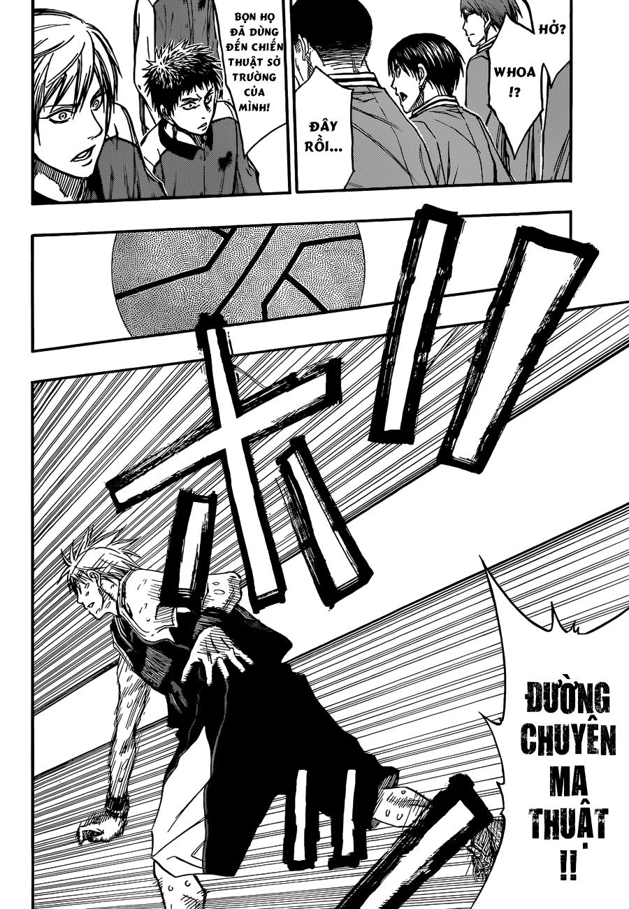 Kuroko No Basket chap 257 trang 18