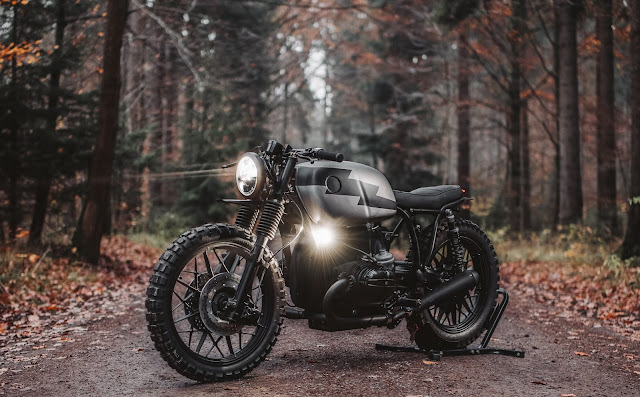 BMW R100/7 By Hookie Co Hell Kustom