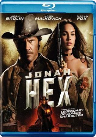 Jonah Hex 2010 BluRay 250MB Hindi Dual Audio 480p