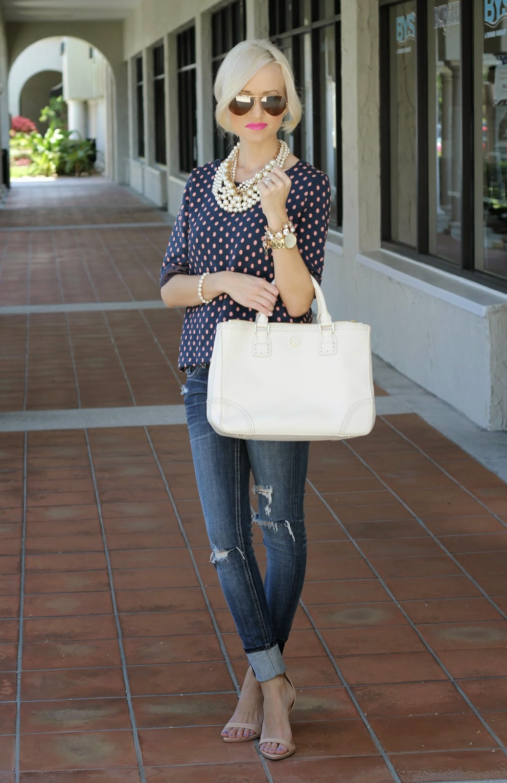 A Spoonful Of Style Polka Dots And Pearls