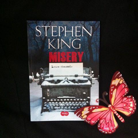 resenha livro Misery Stephen King - Tamaravilhosamente