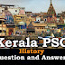 Kerala PSC History Question and Answers - 6