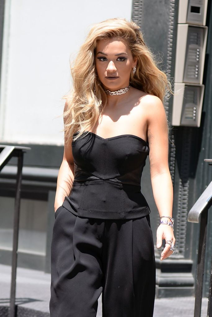 Rita Ora – Leaving Her Apartment in New York City