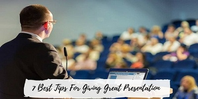 give great presentation