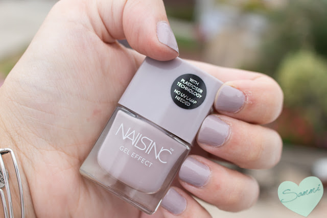 Sammi's Mani: Nails Inc. Gel Effect in Porchester Square