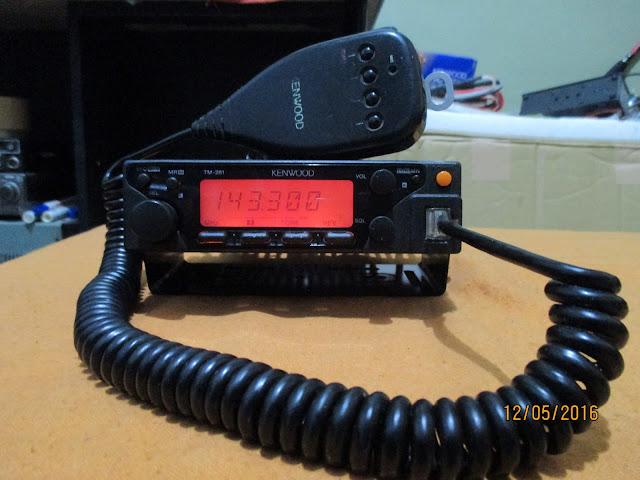 Kenwood TM-261A/E Mobile Radio