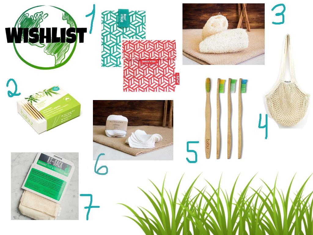 Sugestões e conselhos de Mudanças a por um dia-a-dia mais ecológico - eco-friendly - escovas de bambu - sacos reutilizáveis - cotonetes de bambu - discos desmaquilhantes - esponjas