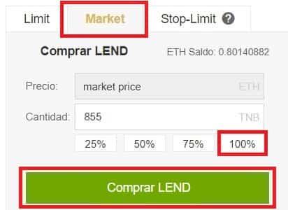 Dónde Comprar Moneda Virtual ETHLend (LEND)