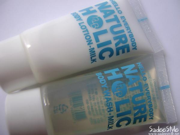 [HELLOEVERYBODY] Nature Holic Body Wash Milk(30ml)