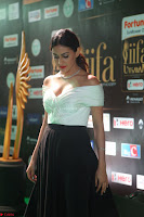 Amyra Dastur in White Deep neck Top and Black Skirt ~  Exclusive 004.JPG