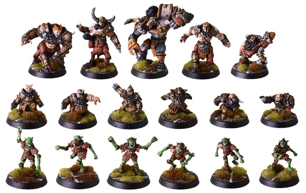 Chaos Dwarf Hobggoblin Blood Bowl Player #4