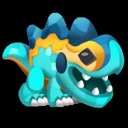 Dragon Troisième Anniversaire apparence de l'enfant