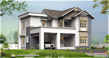 Double Storied 4 Bedroom House In 2450 Sq-feet Home