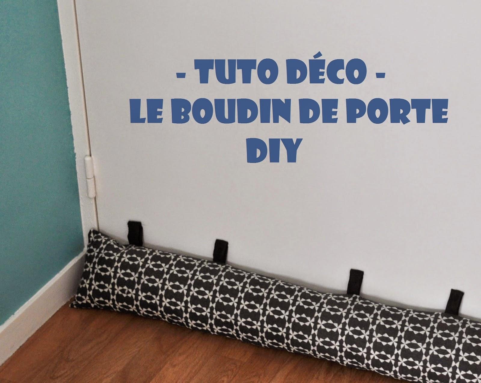 funky sunday halte aux courants d 39 air le boudin de porte diy. Black Bedroom Furniture Sets. Home Design Ideas