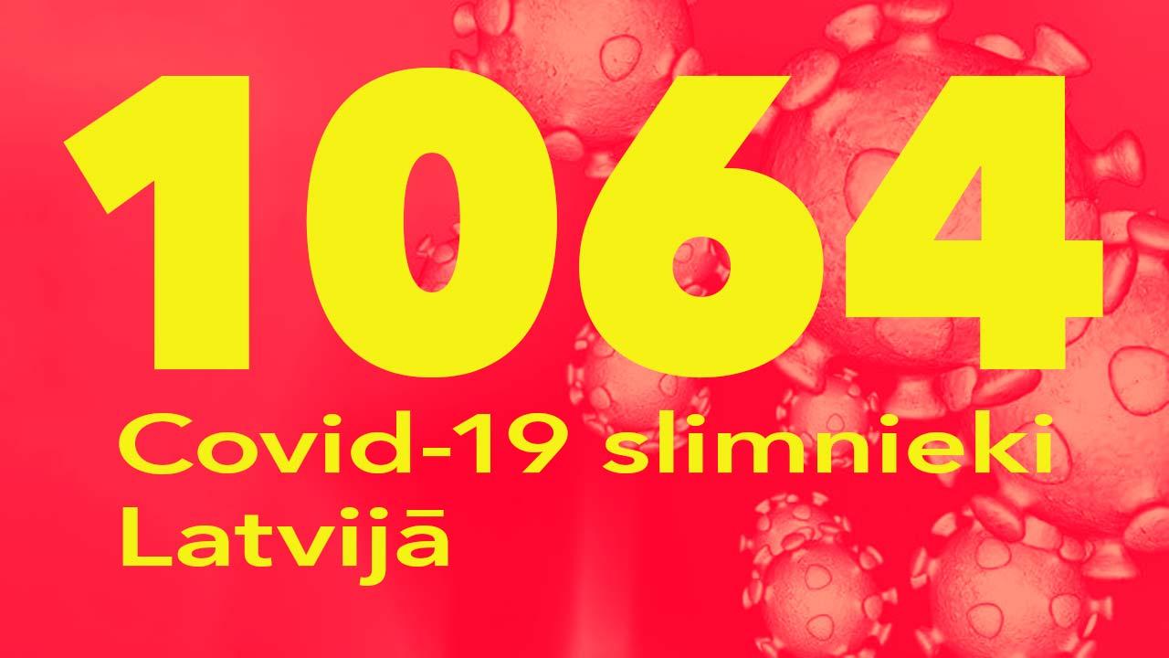 Koronavīrusa saslimušo skaits Latvijā 29.05.2020.