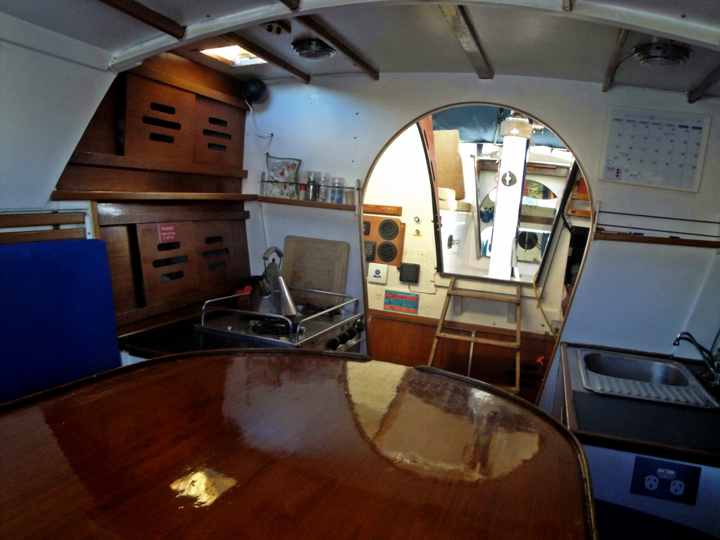 Due Course Now: Guided Tour of Pegasos, a Jim Brown SeaRunner 37