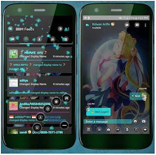 BBM MOD Sailor moon APK V3.1.0.13