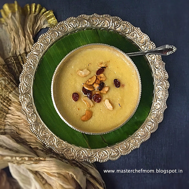 Paal Kesari Recipe| Milk Kesari