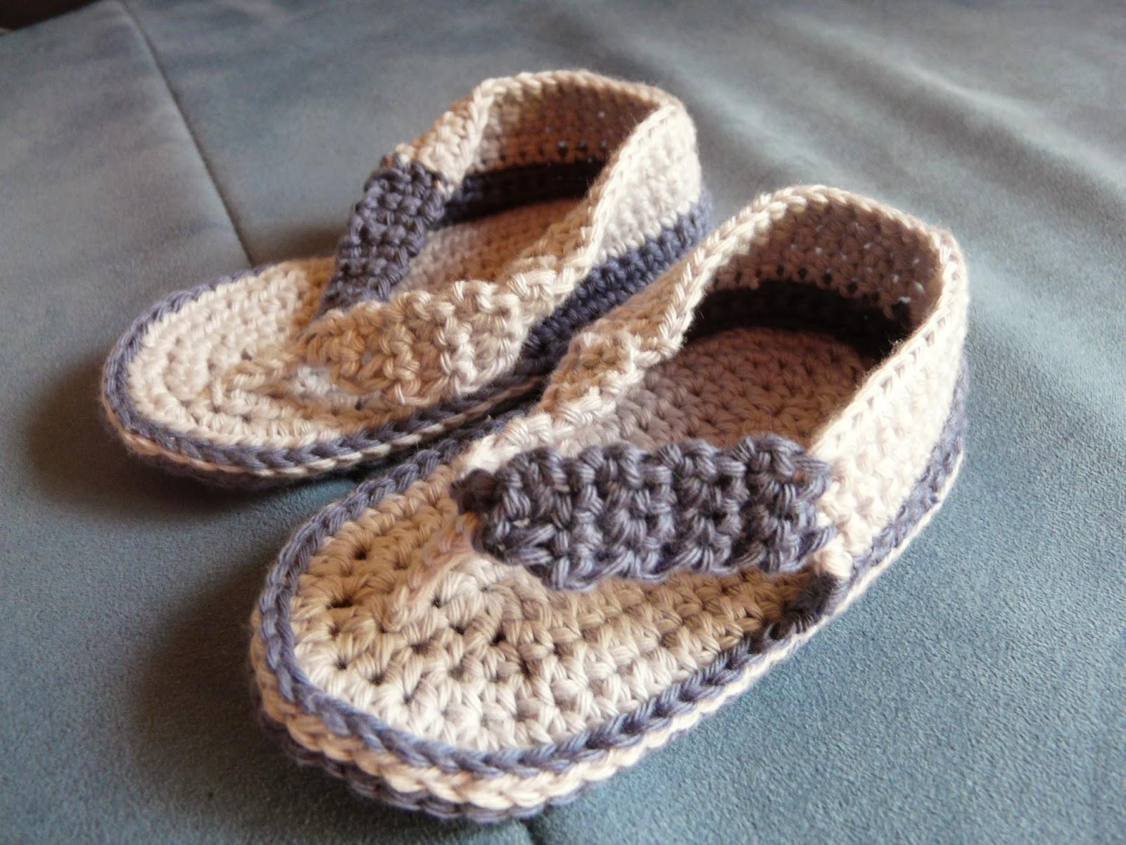 gehäkelte Sandale Baby