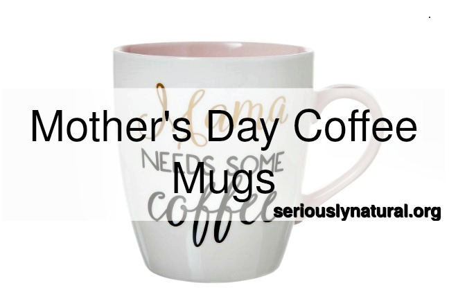 "Click here to buy the Clay Art Jumbo Porcelain Mug - ""Mama needs some coffee"" for the perfect mother's day gift!"
