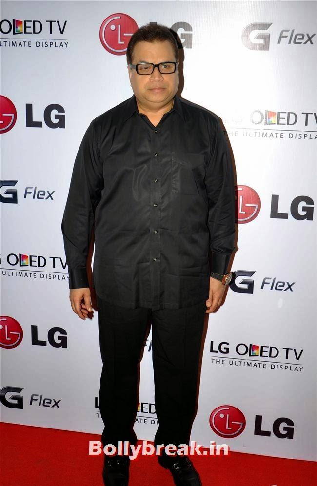 Ramesh Turani, Celebs at LG G Flex Smartphone Launch