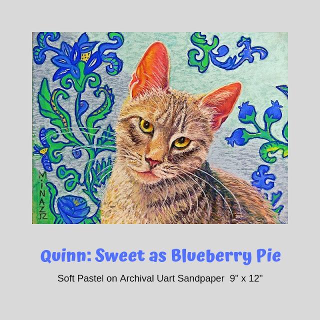 Sweet as Blueberry Pie by Minaz Jantz
