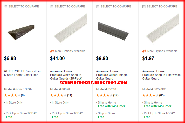 Gutter Guard Reviews And Complaints Scams Reports