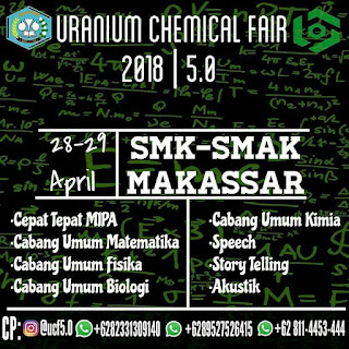 Uranium Chemical Fair 2018 by SMK Makassar