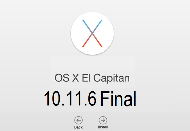 Mac OS X El Capitan 10.11.6 Final