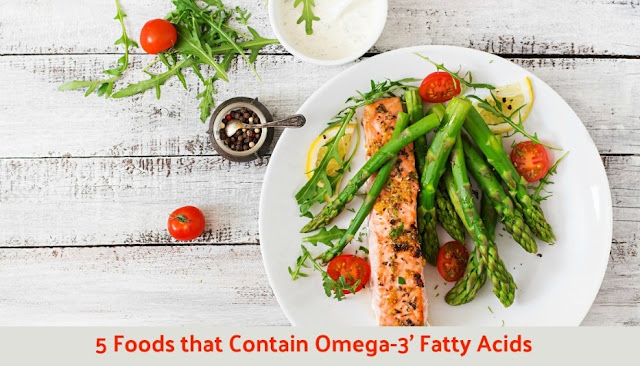 5 Foods that Contain Omega-3 Fatty Acids