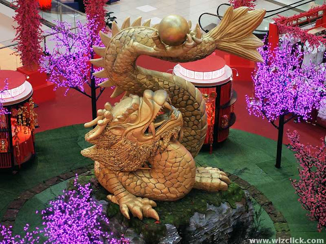 Viva Mall 2012 CNY dragon
