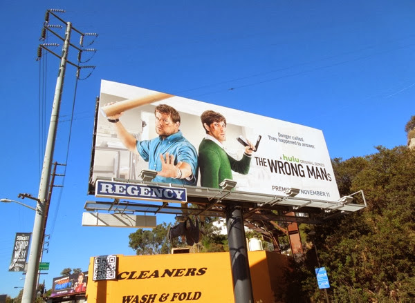 Wrong Mans USA billboard Sunset Strip