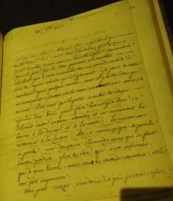 Lettre de Voltaire à Mme d'Epinay sur Mozart 1766