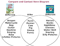 Compare contrast lesson plan