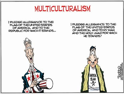 Multiculturalism and Islam's allegiance in America