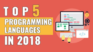 Top 5 programming language to learn in 2018