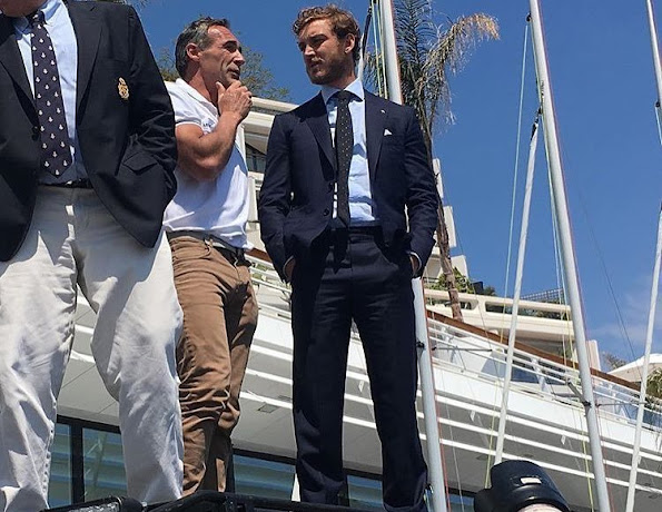 pierrecasiraghi_officialMost inspiring person in the world its always a amazing to exchange with the best