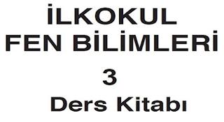 3.Sınıf MEB Yayınları Fen Bilimleri Ders Kitabı